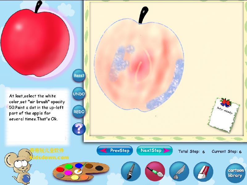 儿童卡通教画画软件