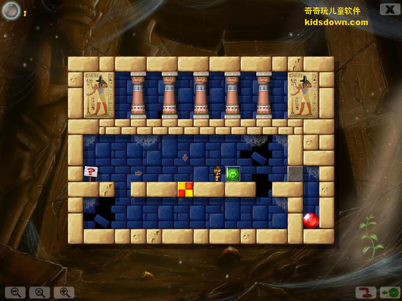 在该游戏中,洞穴,金字塔,代表古代文明的神庙等一一呈现,该软件虽然